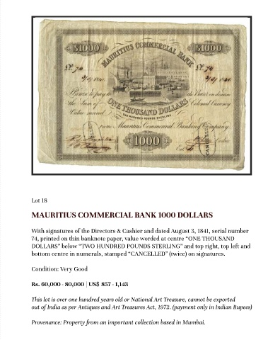 Page 39 Numismatic And Philatelic
